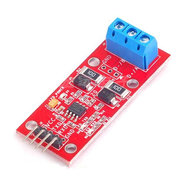 3pcs SCM TTL to RS485 module / 485 to serial port UART level mutual conversion / hardware automatic control flow