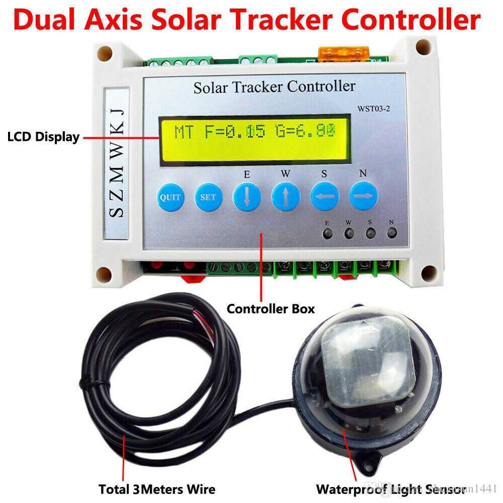 Relay for Dual Axis Solar Panel Tracker Light Sensor LCD Electronic Controller