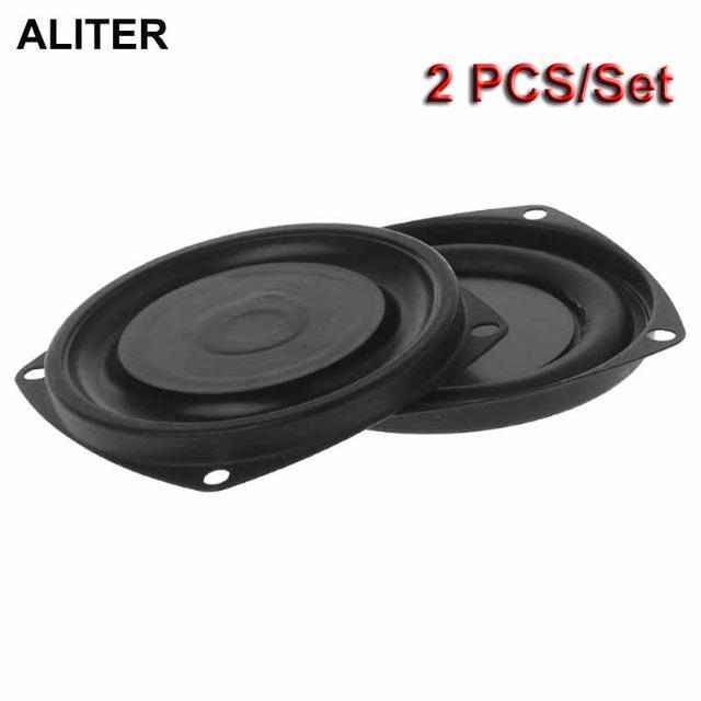 """Consumer Electronics 2ST Woofer Radiator Bass Passive Lautsprecher 3 \""""Tieftonlautsprecher Membran Rüttelplatte DIY"""