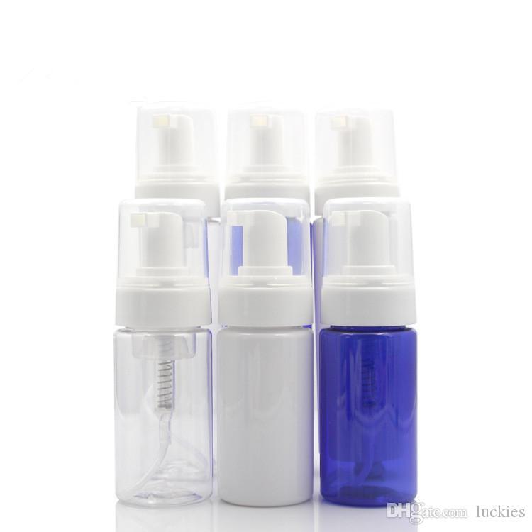 100ml Seyahat köpürtücünün Şişeler Sıvı Sabun Plastik Köpük Pompası Şişeler Sabun Şişe Sıvı Köpük Dispenser boşaltın