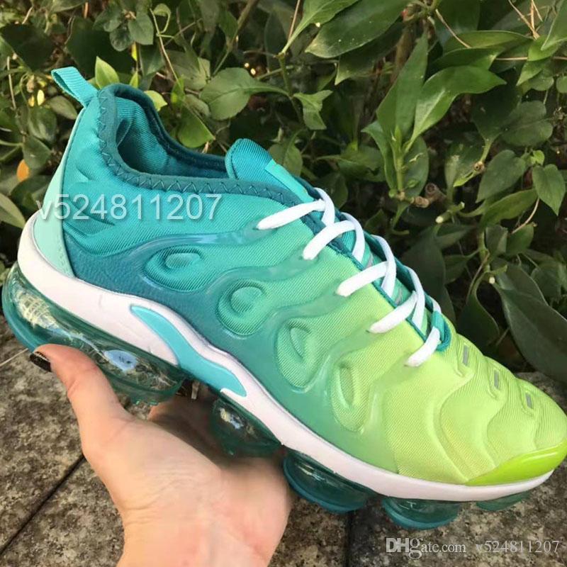Acquista i Tn Plus 2019 Scarpe Da Corsa Da Uomo Sneakers Da Donna Scarpe Da Ginnastica Da Uomo Scarpe Sportive Firmate Triple Nero Bianco A $52.8 Dal