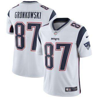2019 Pro Super Bowl LIII Tom Brady jersey Rob Gronkowski Patriots Julian  Edelman Vapor Intocável Cor 305edfe956061