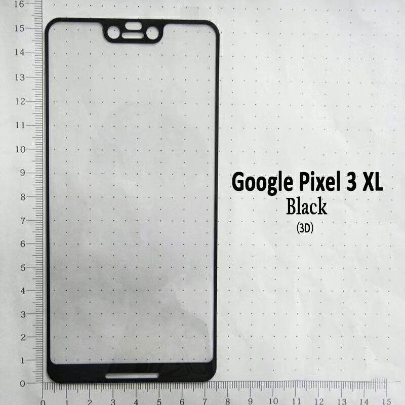 Protecteur d'écran de couverture 2.5D en verre gâché plein bord incurvé avec le paquet 10in1 pour Google Pixel 3 / Pixel XL3