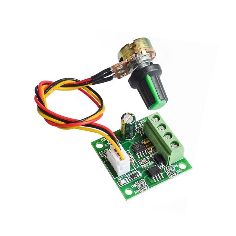 PWM Dc Motor Regulator 1.8v 3V 5V 6V 12V 2A Speed Control Module