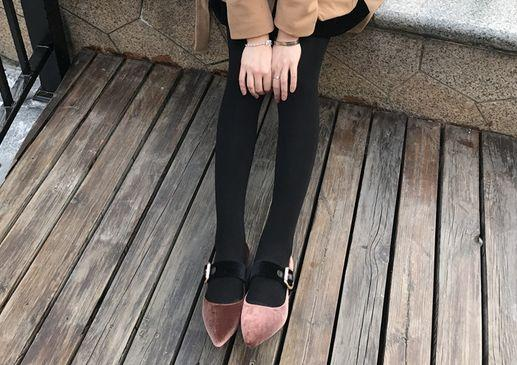 Sıcak Satış-kadife hakiki deri kemer sivri daireler ayakkabılar siyah kahverengi moda p bordo