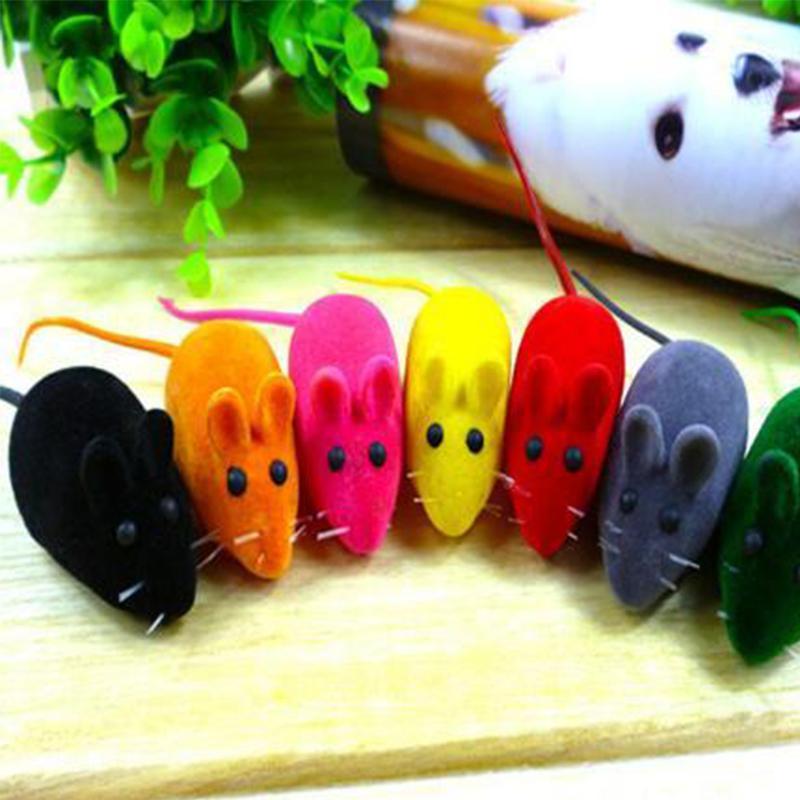 لعبة الفأر جديدة ليتل الضوضاء صوت صرير الفئران اللعب هدية لهريرة القط العب لعبة ألعاب الحيوانات الأليفة المطاط القطيفة ماوس ألعاب بالجملة DBC BH2918