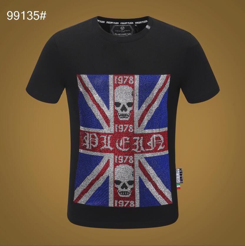 2019 NEW Hot Sale T-Shirt Men Shortsleeve хлопка простирания Jersery Tee Мужская вышивка Тигр Printed Птица Змея Crew Воротник T -Shirt # 5806