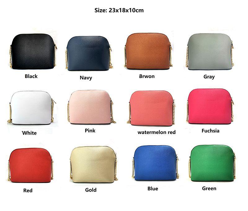 Pink sugao women handbags purses 2020 new style crossbody bag pu leather women bags Sac à main chain shoulder bag 12 color high quality