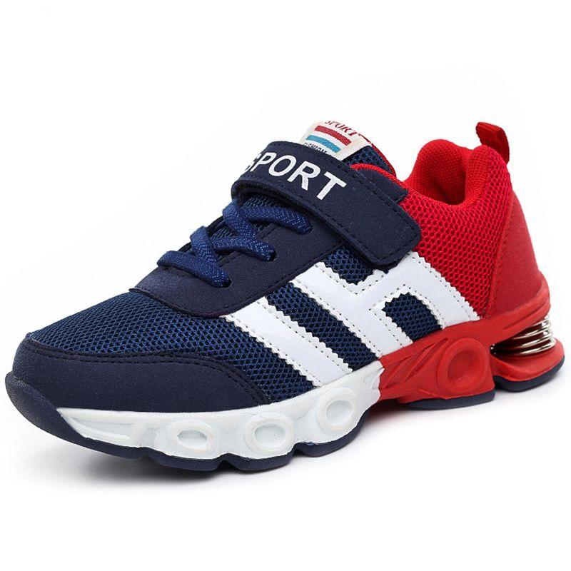 Детская обувь мальчик кроссовки для девочек спортивная обувь Детские кроссовки Детские кроссовки корзина повседневная дышащая