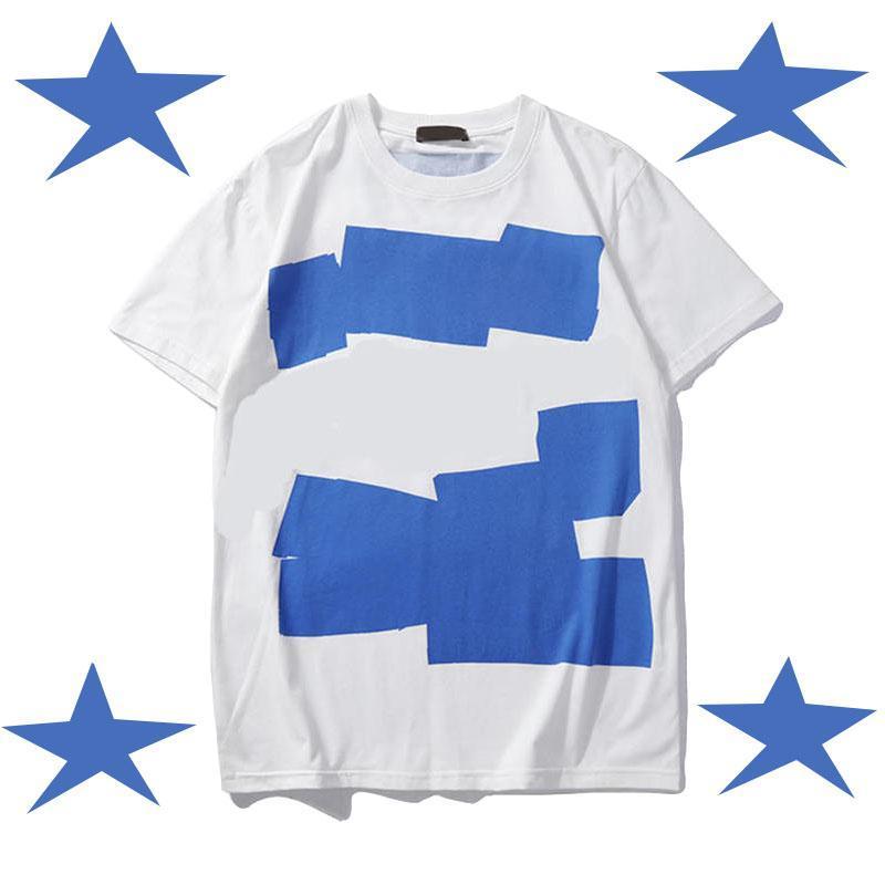 Manera de la camisa del cuello de equipo del verano Tops estilete camisas ocasionales para la camisa de manga corta de las mujeres Ropa patrón de la letra camisetas impresas nueva llegada de los hombres de
