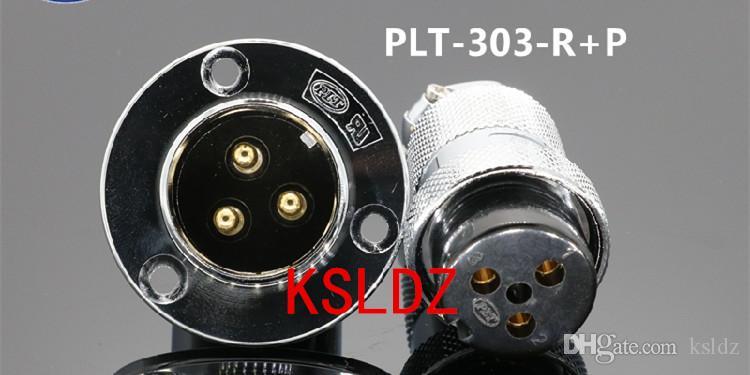 Freie Verschiffenlos (1 Stücke / Los) original New PLT APEX PLT-303-R + P PLT-303-R-R PLT-303-P-R 3pins Aviation Steckverbindung