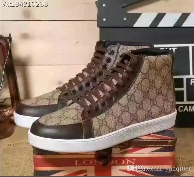 2020 velluto nero bella suola spessa scarpe da tennis casuali scarpe da sera di colore solido di vendita calda in pelle da uomo e scarpe boutique delle donne # 8429