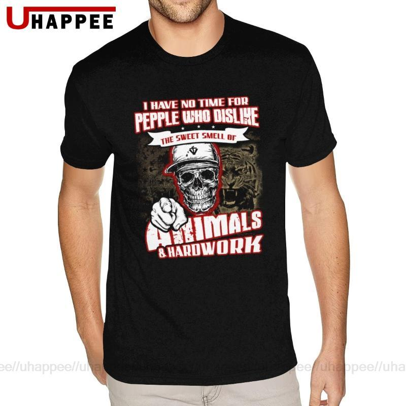 Big Tall Funny Animal Crossing Tee Shirts Men Hip Hop Short Sleeves O Neck Sexy Male Shirts 80s Apparel