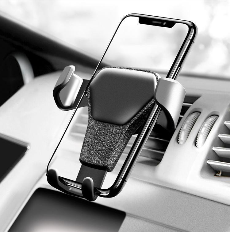 حامل الهاتف عالية كانليتي العالمي السيارات تنفيس الهواء جبل حامل للحصول على الهاتف في السيارة لا المغناطيسي حامل الهاتف النقال حامل مع حزمة البيع بالتجزئة
