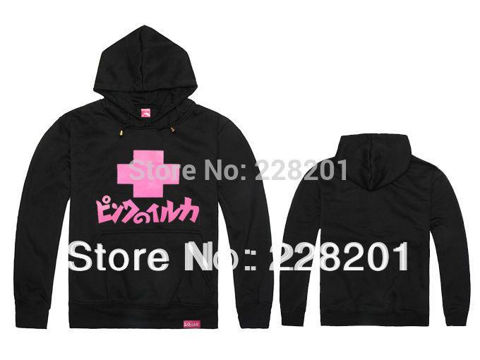 Outono e inverno rosa hiphop hiphop sul mais grosso camisola pullover hip-hop casaco casual hoody boa qualidade preço de fábrica