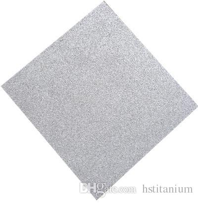 Sıcak satış saf titanyum köpük kare yuvarlak sac sinterlenmiş titanyum köpük levhalar için En Iyi fiyat titanyum köpük Sac Levha Disk Tüp filtre