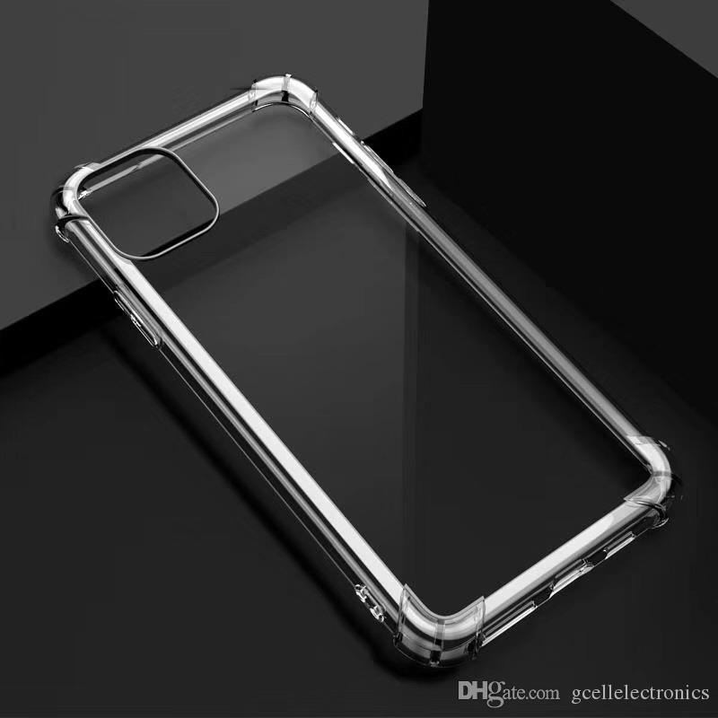 1.5mm Temizle Darbeye Samsung Galaxy S21 Fe Artı A02 A32 A52 A82 IPhone 12 Pro Max Şeffaf Cep Telefonu Kapakları için TPU Kılıfları