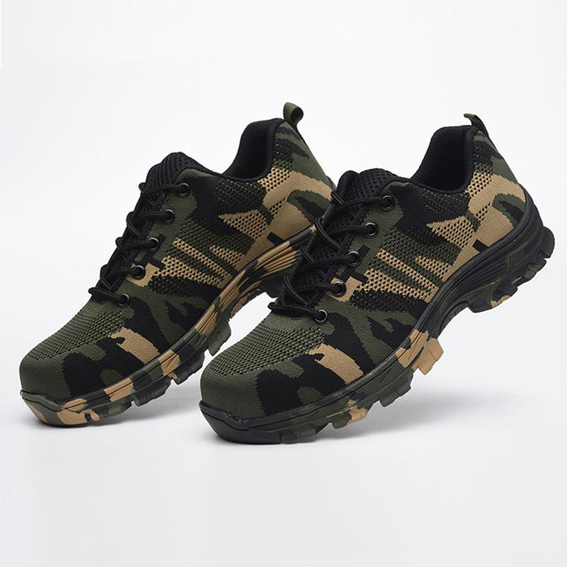 Sale OFF-51% camo steel toe shoes