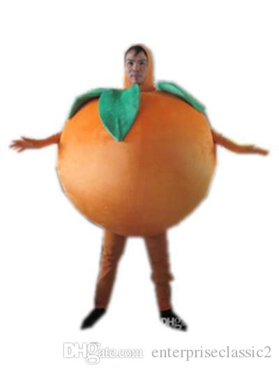 un costume de mascotte de fruits orange pour adulte à WEA
