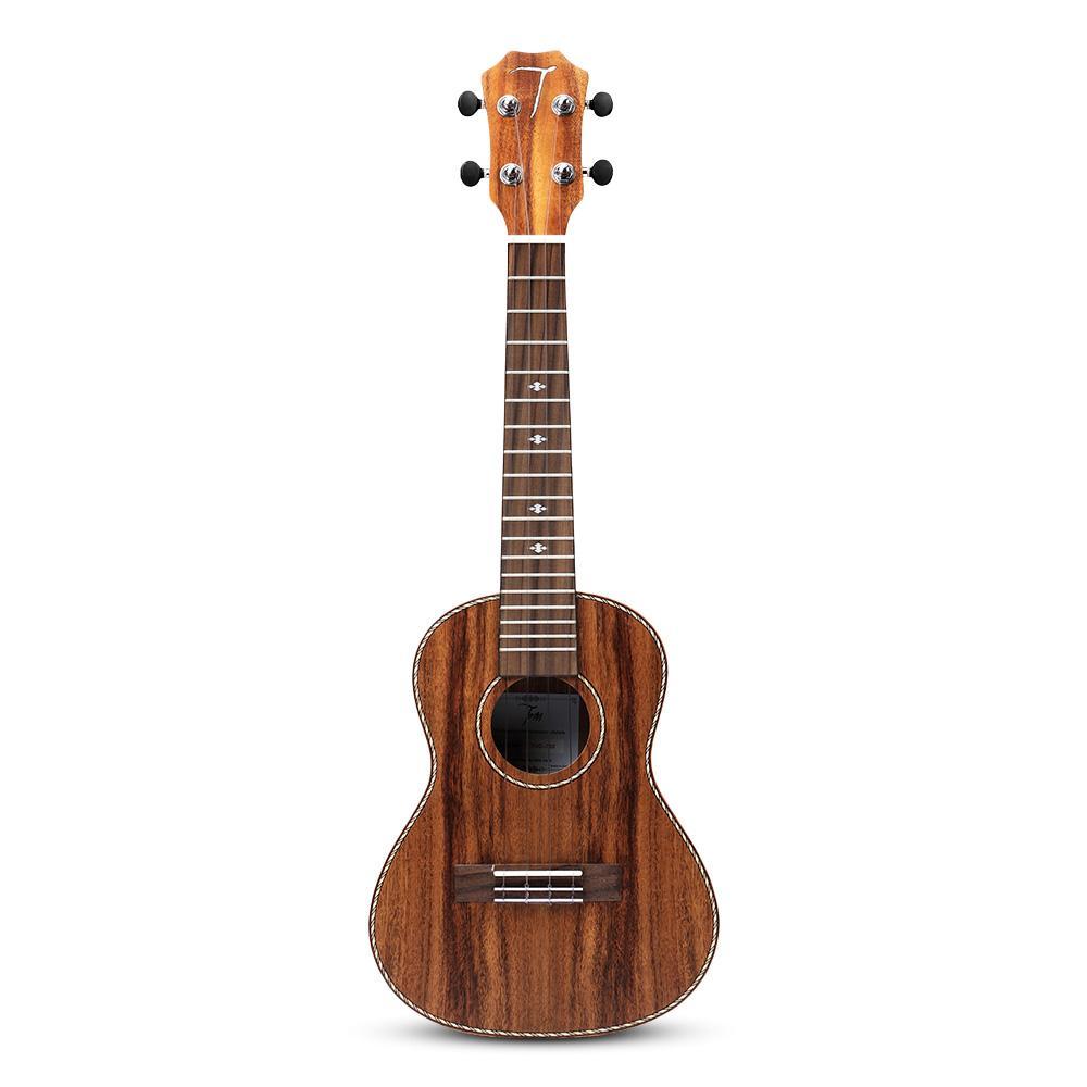 TOM G700 우쿨렐레 23 인치 아카시아 로즈 우드 어쿠스틱 콘서트 가방을 들고와 우쿨렐레 현악기