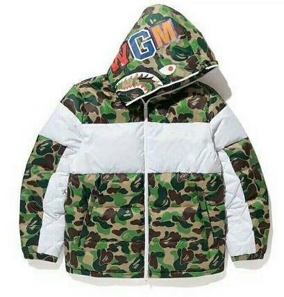 Großhandel Camouflage Green White Daunenjacken Herren Damen Jacken Mäntel Winter Dicke Oberbekleidung Parkas Herrenbekleidung Tops Von Hotclothesww,