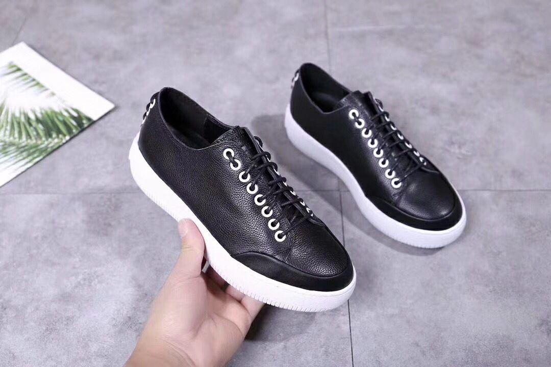 2019 primavera novo laço de couro sapatos brancos frente e traseira laço decorativo antiderrapante vertical branco sapatos casuais m04041356