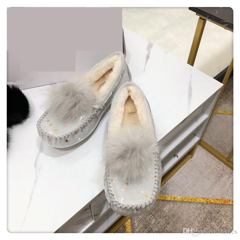 2020 nuova lana di stile singoli pattini scarpe di soia caldo morbido comodo di alta qualità unica della moda