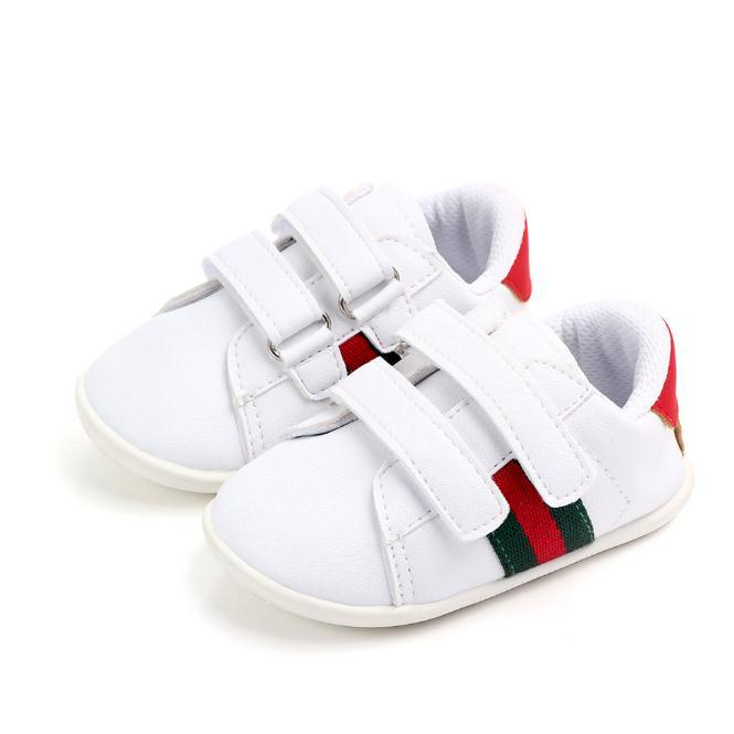 Zapatos para niños para los bebés niños ocasional zapatillas de deporte suave de los zapatos corrientes de los deportes blancos de primavera / otoño de las muchachas Zapatos
