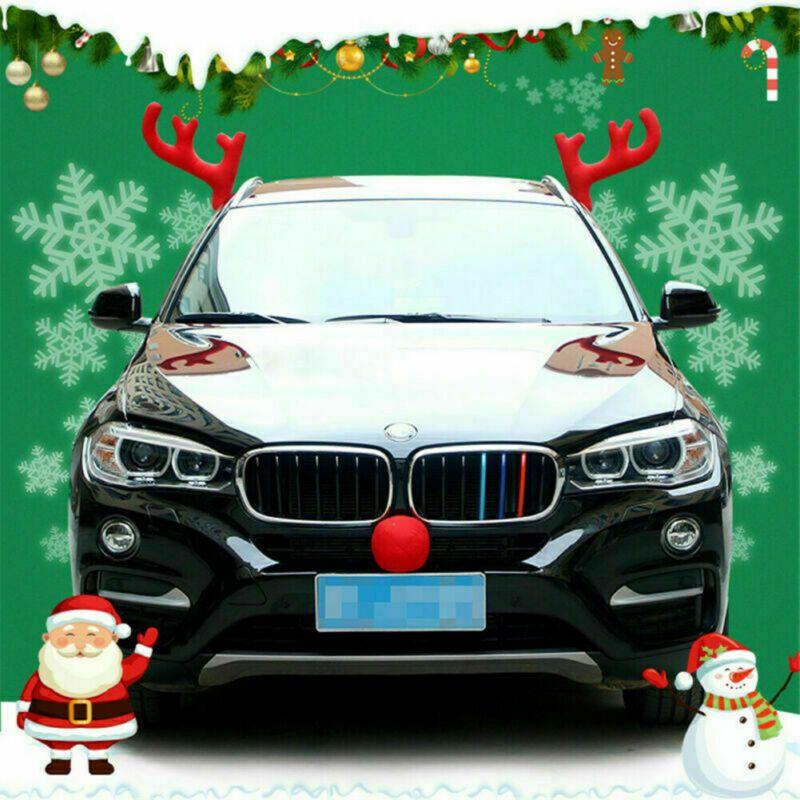 ** FREE SHIPPING ** Weihnachten Antlers Auto Kostüm Rudolph Rentier