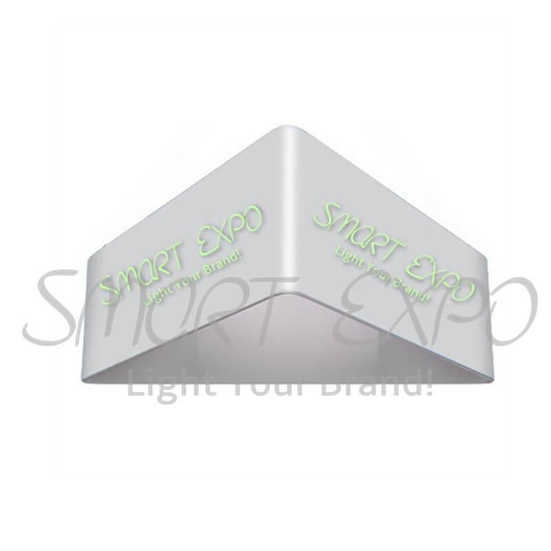 Güçlü alüminyum çerçeve Gerginlik Kumaş ile Tavandan İşaret Banner Asma 14ft (L) * 3.5ft (H) Grafik Taşınabilir Bag yazdır