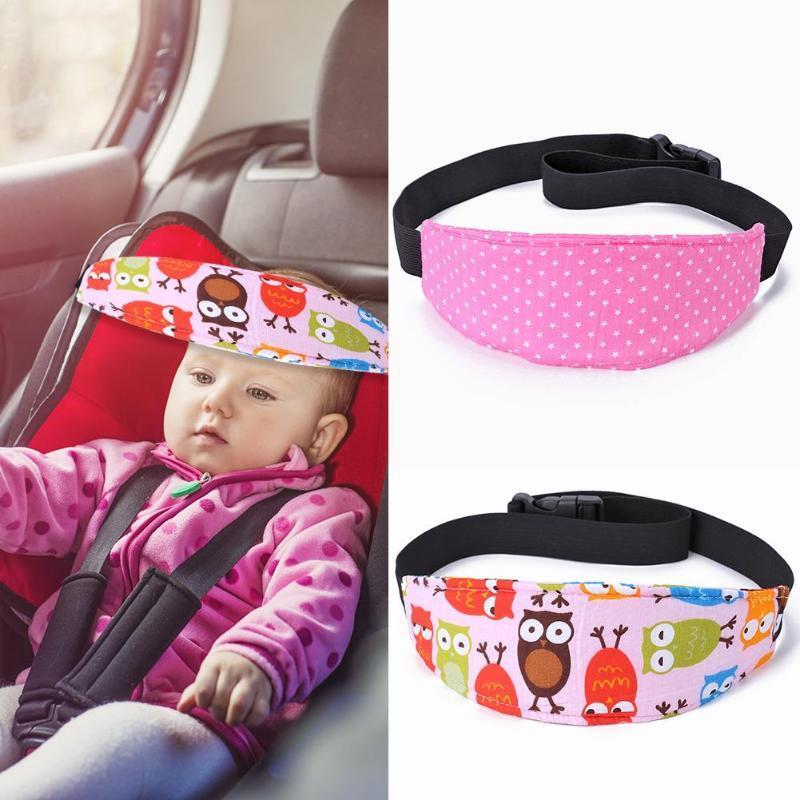 Sièges bébé Safety Car sangle de ceinture sommeil positionneurs bébés Tout-petit chef de soutien Pram poussette enfants Ceintures de fixation réglable