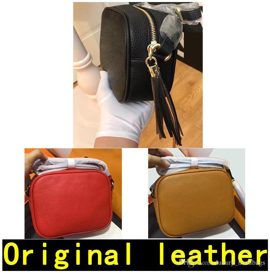 Soho Disco sac Designer Sacs à main de luxe de haute qualité sacs à main célèbre mode original Crossbody en cuir véritable peau de vache Sacs à bandoulière