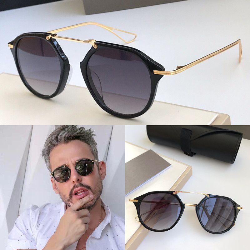 Novos óculos de sol lente homens uv estilo vendendo quadro de fshão do vintage modelo redondo modelo 400 para qualidade com case top venha hot óculos de sol koh pgwbd