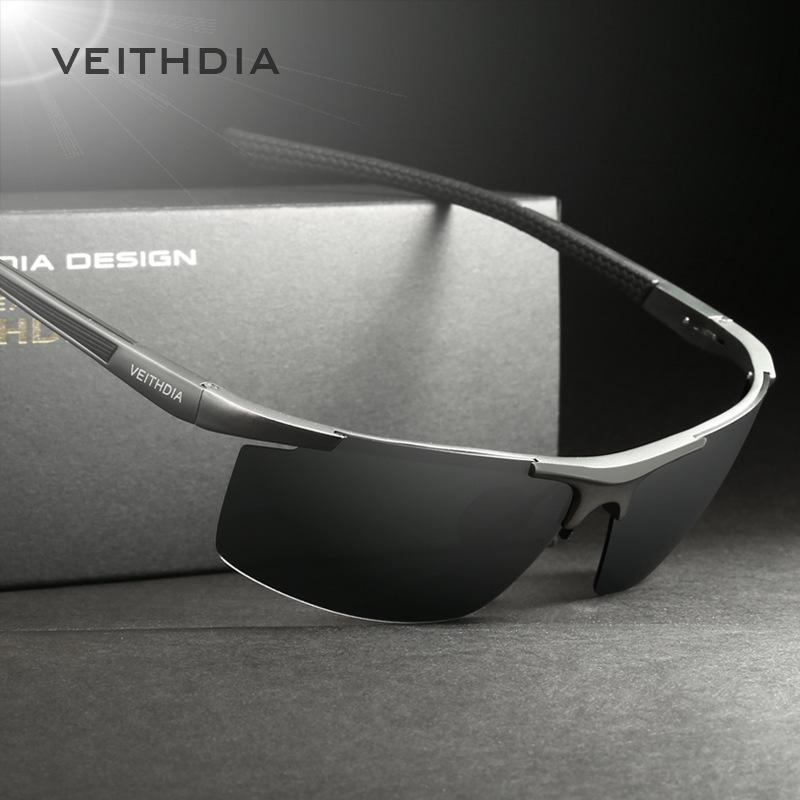 Men 6588 için 2020 Çerçevesiz Erkek Güneş Gözlüğü Polarize Erkek Kaplama Ayna Güneş Gözlükleri Sürüş Gözlük