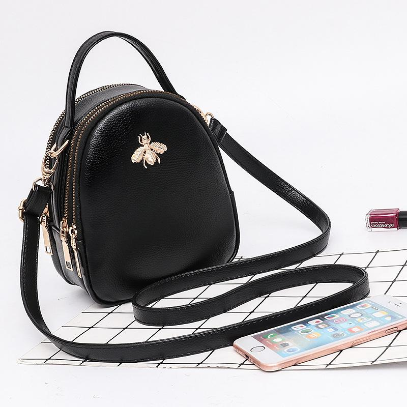 Superior2019 Small Bees Bag Chaohan Baitao Oblique Sway Packet Women's Singles Shoulder Mini- Portable Woman