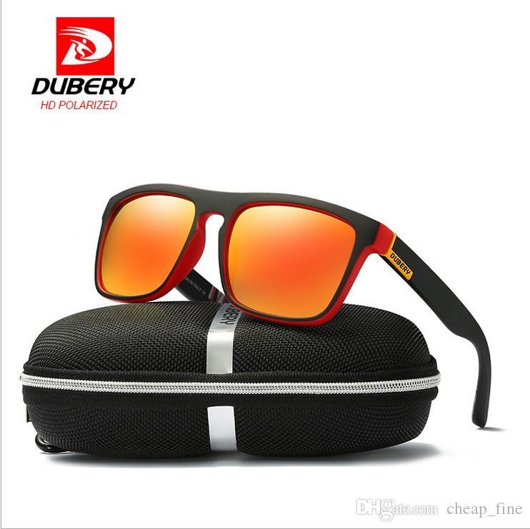 Dubery polarisierte sonnenbrille für männer frauen klassische sonnenbrille männer fahren sport mode männlichen brillen designer sonnenbrille uv400 731