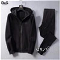 Erkekler Spor Hoodie Ve Tişörtü Siyah Beyaz Sonbahar Kış Jogger Spor Suit Erkek Ter Suits eşofman Seti Artı Size04