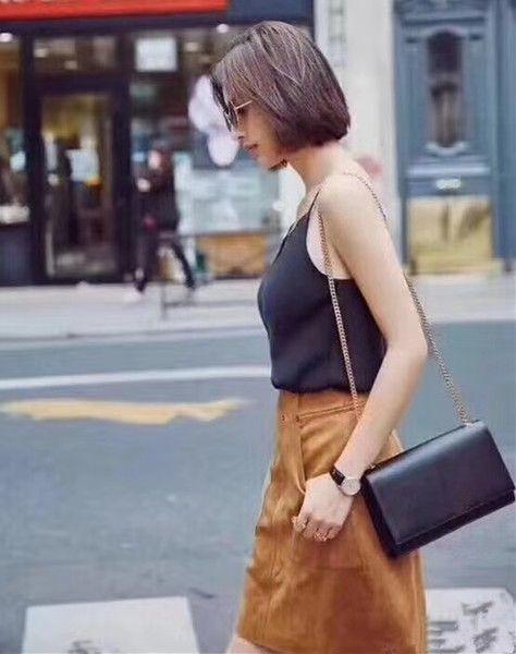 Мода цепь сумка женщины дизайнер сумочка кошелек клатчи женщины кожаная сумка Сумка сумки через плечо сумка