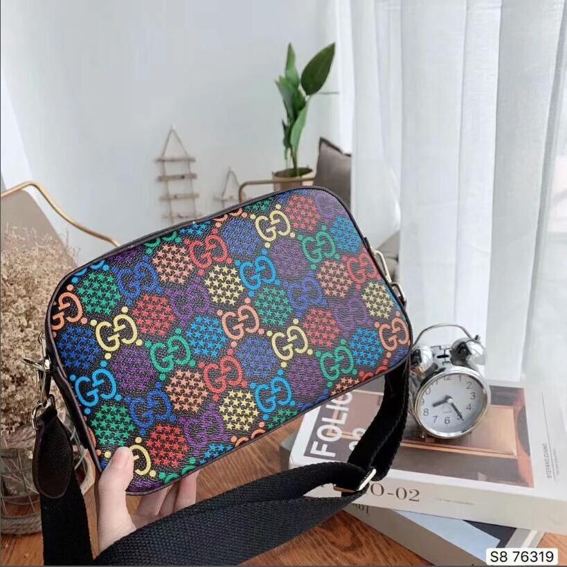 Bayanlar Messenger çanta için 2020 Sıcak Kadının Çanta Moda Kadın Çanta Deri Çanta Omuz Çantası Crossbody Çanta dorp gemi T009 cüzdanlar