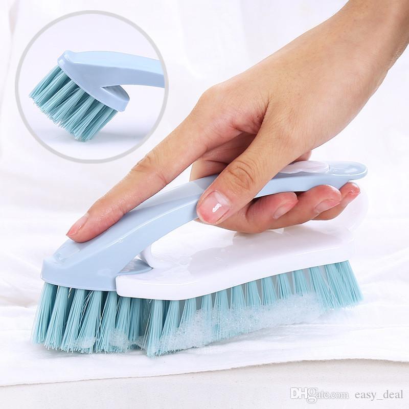 2 in1 spazzola di pulizia di vestiti scarpe rimovibile Brush Multi Fuction casa della cucina della spazzola di pulizia strumento yq00811