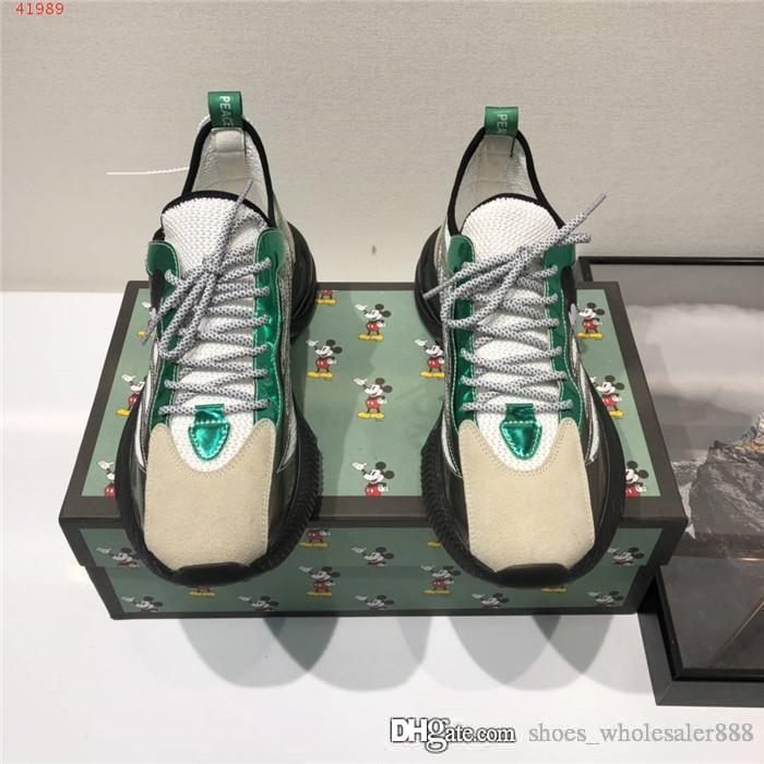 Scarpe uomo di colore di contrasto high-top, scarpe padre traspirante, di sport della piattaforma di modo intensifica scarpe casual