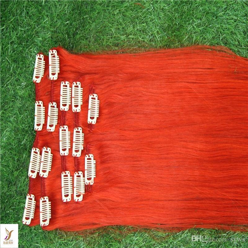 # 99J Красное вино цвета девственницы Малайзийский зажим для наращивания волос 100% малазийский прямые волосы Реми 6а Необработанный зажим для наращивания волос