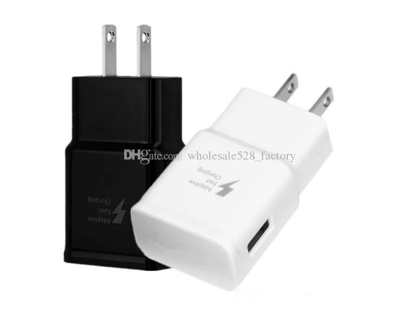 5V 2A Voyage UE US Plug Chargeur USB Adaptateur rapide Alimentation Chargeur pour Smartphone HTC LG