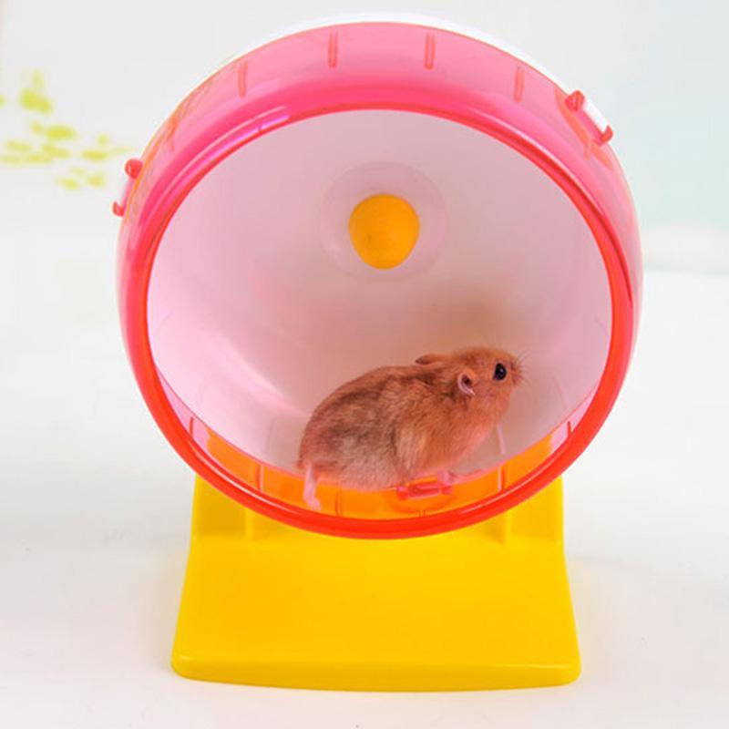 hamster silenciosa Chinchilla exercício de corrida de rack roda pequeno animal de estimação animais de hamster acessórios bolas esportivas cobaia hamster brinquedos