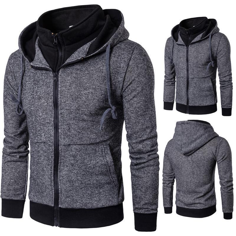 Pop2019 Внешняя торговля Тепло Продать Мужская одежда Man False Two Бумажный классный свитер Wy04