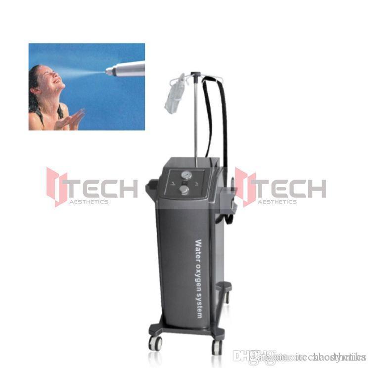 الأكسجين المهنية هيدرو جلدي المياه جيت آلة التقشير آلة الوجه Hydrodermabrasion الوجه آلة Jetpeel الوجه تقشير H200