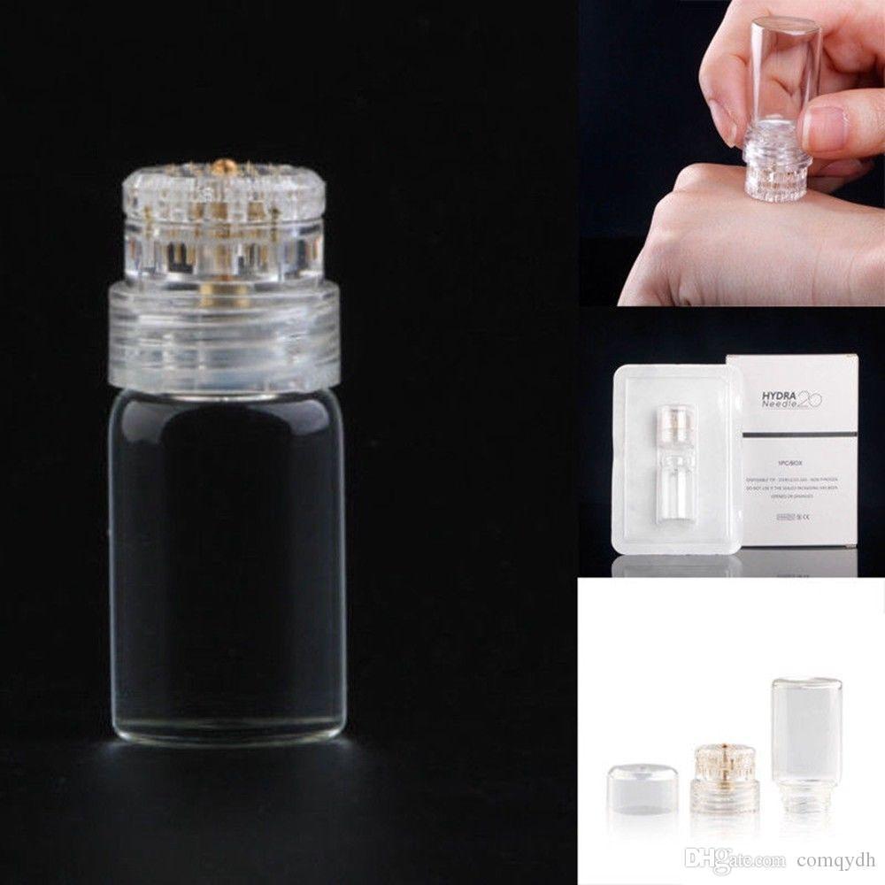 مصل القضيب تطبيق أكوا الذهب Microchannel الميزوثيرابي Tappy Nyaam Nyaam Fine Touch Derma Stamp Hydra Needle Roller