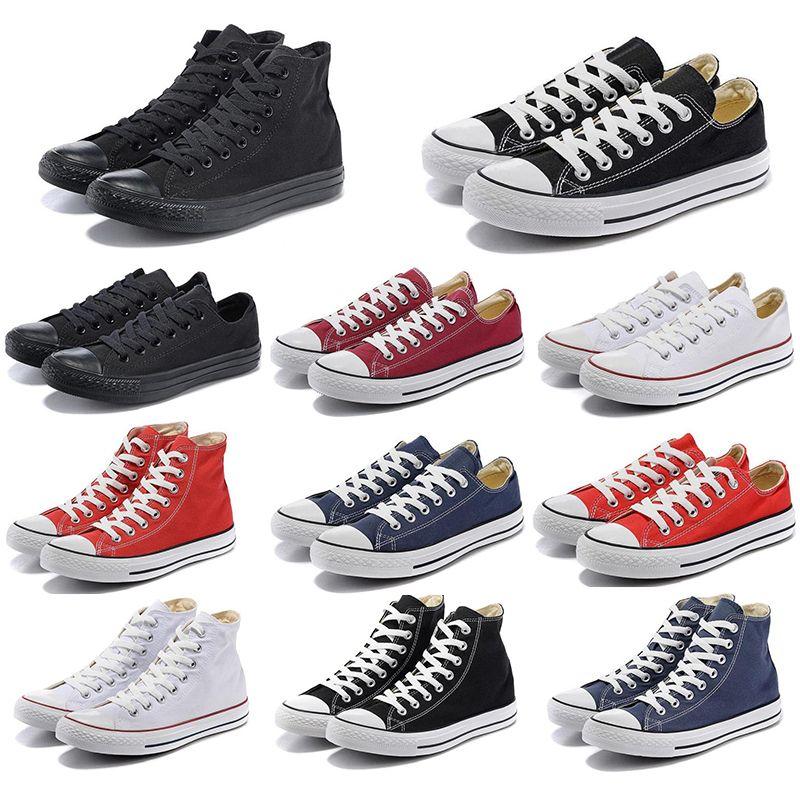 Converses Chaussures livre meias top 2020 de qualidade Designer de Luxo sapatos casuais Estrela boi azul baixos Jam Preto Revelar branco dos homens Mulheres Sports Sneakers Marca