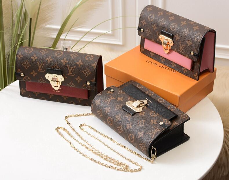 2020 New Classic Stil Bester Designer Marke Clutch Handtasche Luxus-Geldbeutel Art und Weise Kupplung Brieftasche Frauen Handtasche aus Leder Größe 21 * 7.5 * 12.5cm