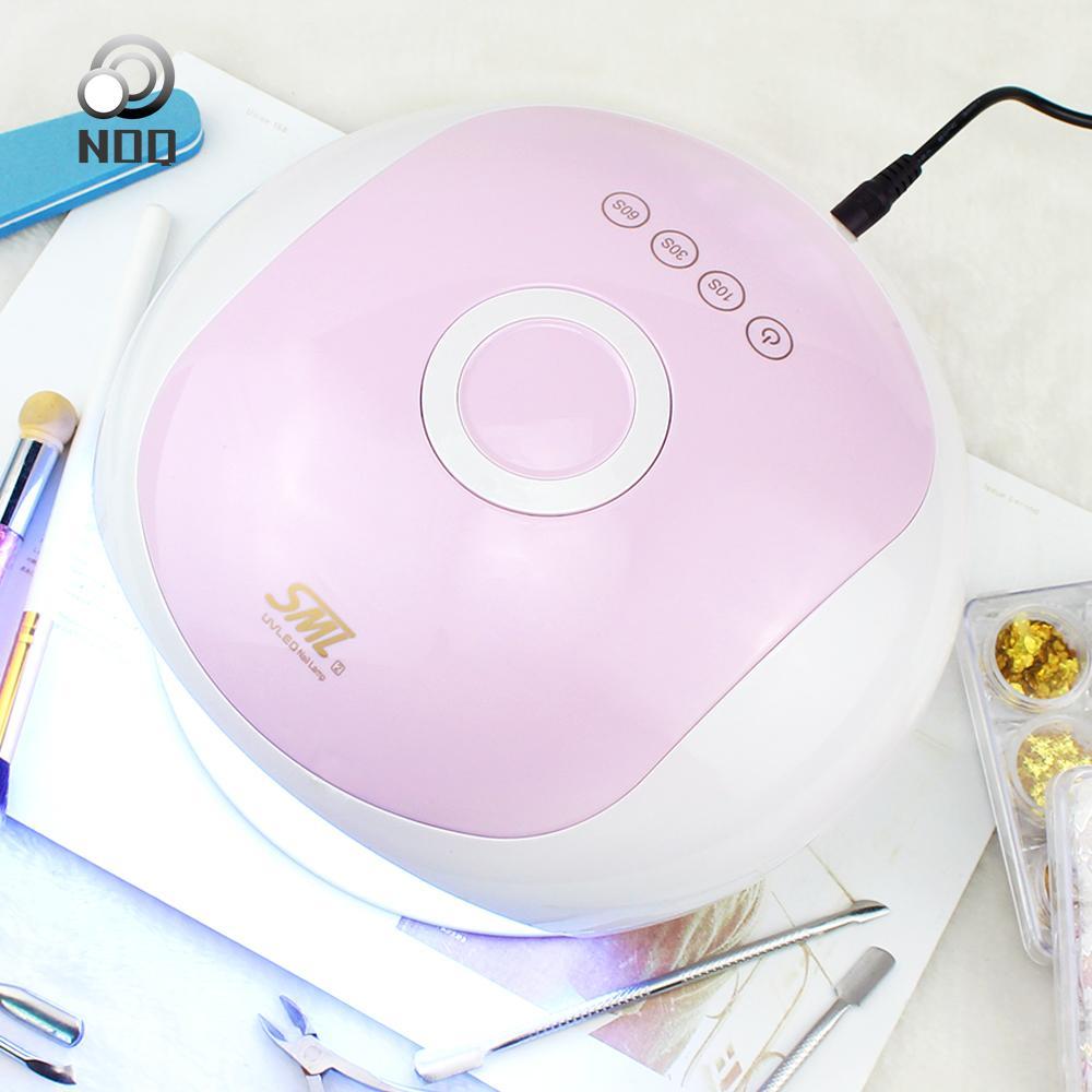 Noq S2 Uv Led 48w Sensor inteligente Lámpara ultravioleta para clavos Lámpara de uñas Secador de uñas para curado de gel Máquina de manicura polaca Lámparas de hielo
